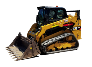 Tracked skid steer